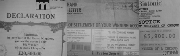 Scam-letters