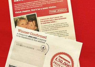 Mock Scam Letter